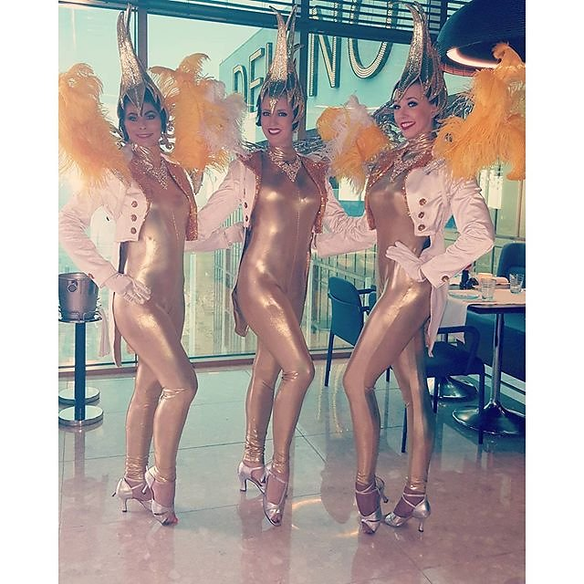 Working with #showgirls from the closed down #jubilee #show tonight #event #photography
