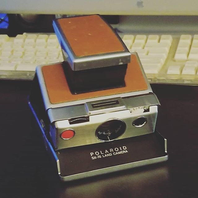 I picked up a #polaroid #sx70 land #camera