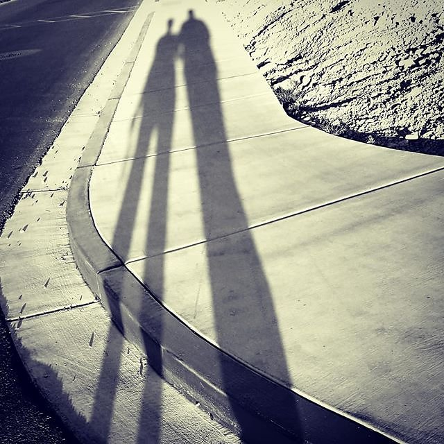 Took little walk, the weather was so nice in #vegas, got a little late afternoon sun and some cool #shadows. I had to capture it. You're not going to get the shot sitting at home! Busy day at the computer, processing and uploading files, commicating with